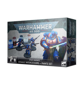 Games Workshop Warhammer 40K Space Marine Crucial Paint Set