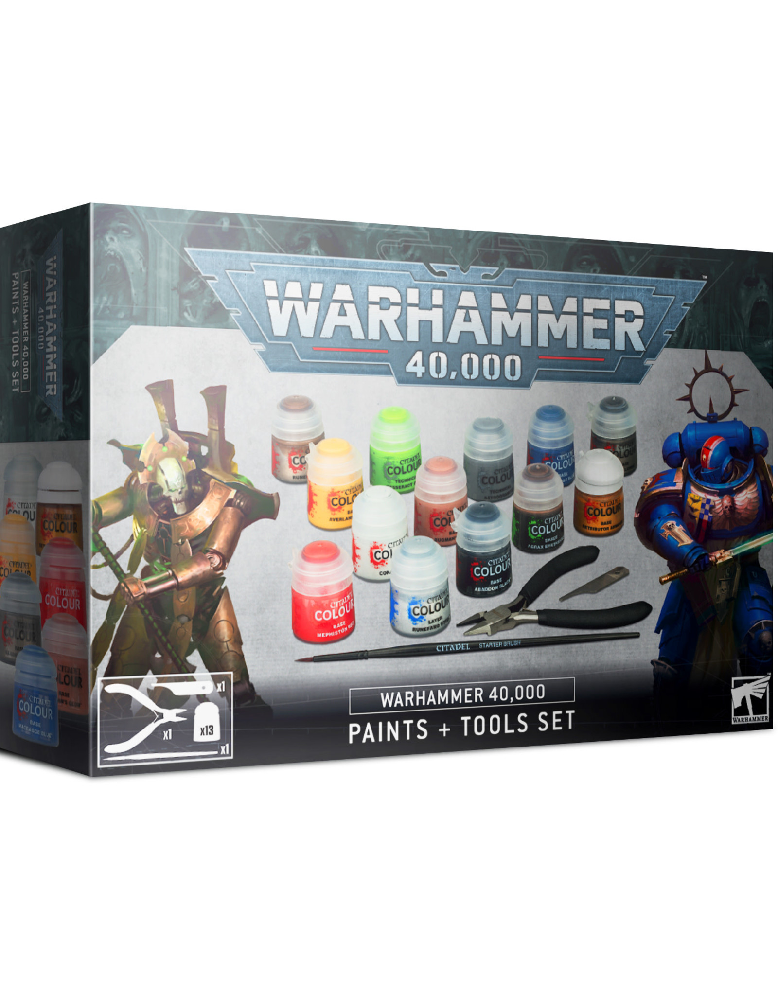 Games Workshop Warhammer 40K: Paints and Tools