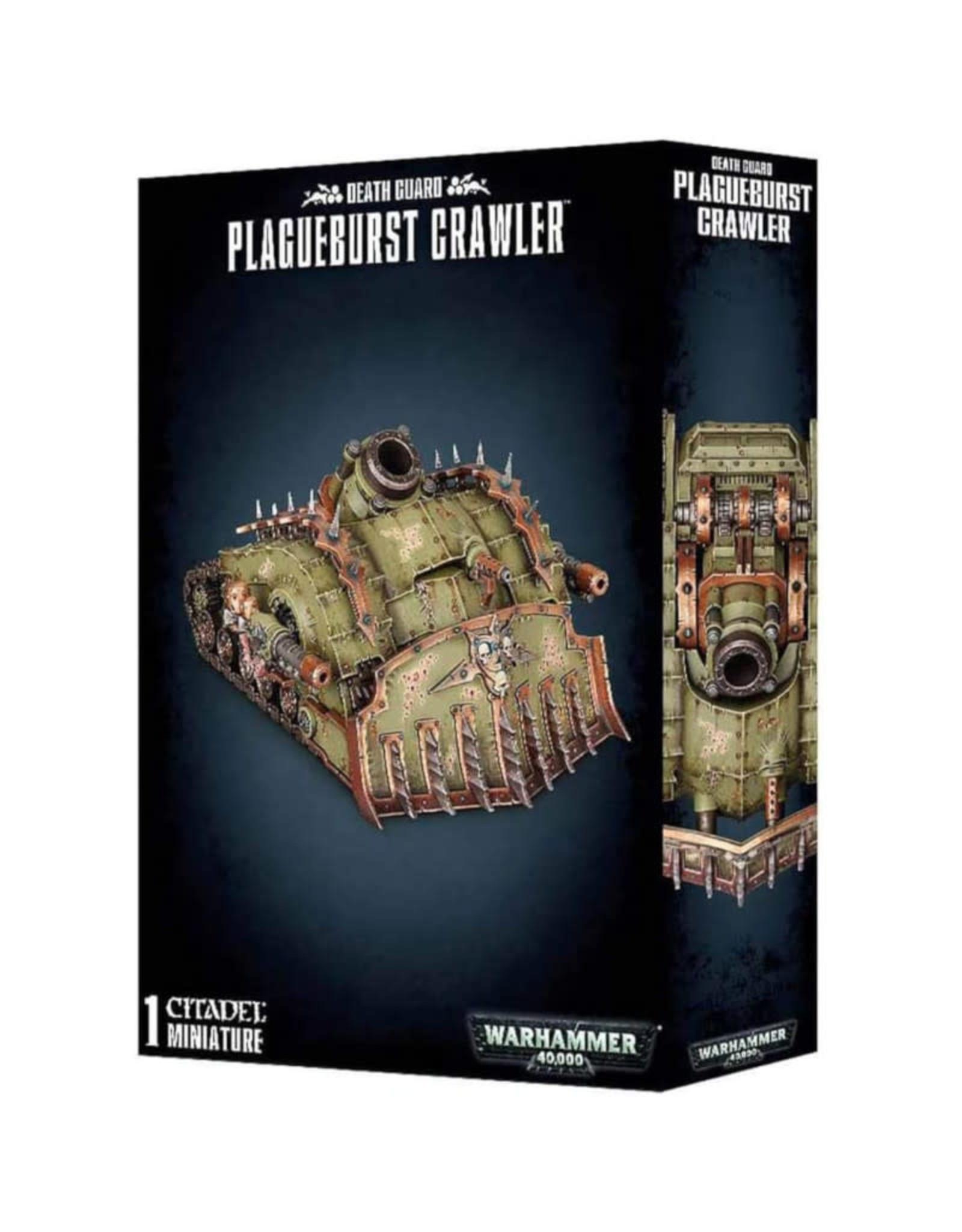 Games Workshop Warhammer 40K Death Guard Plagueburst Crawler