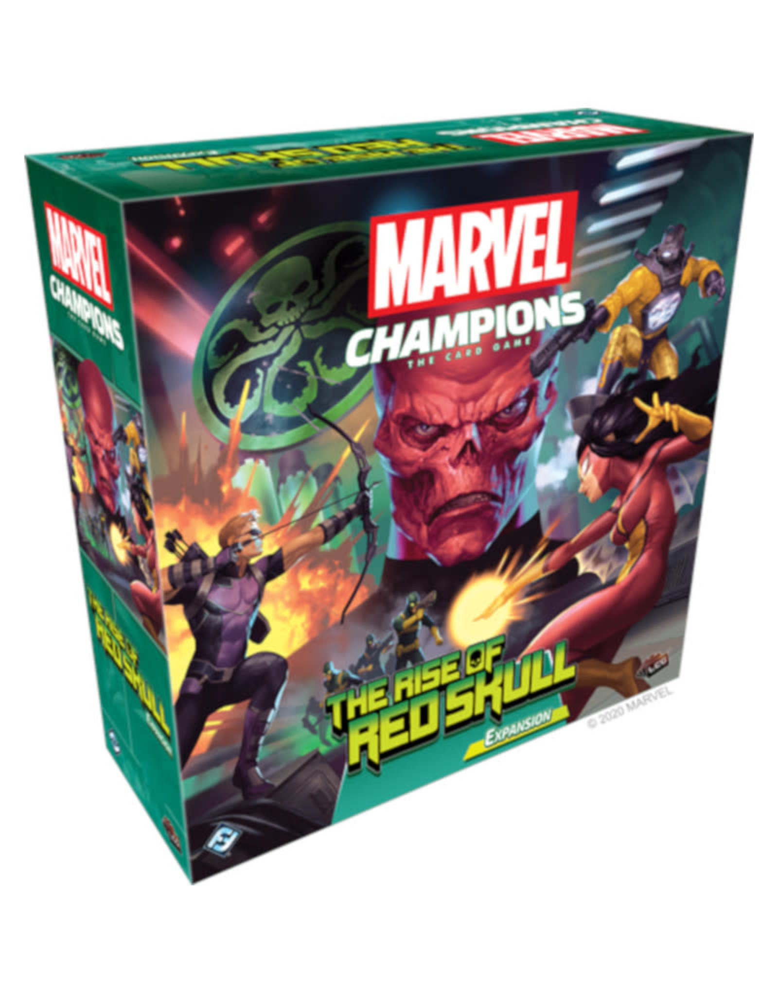 Fantasy Flight Games Marvel Champions The Rise of Red Skull