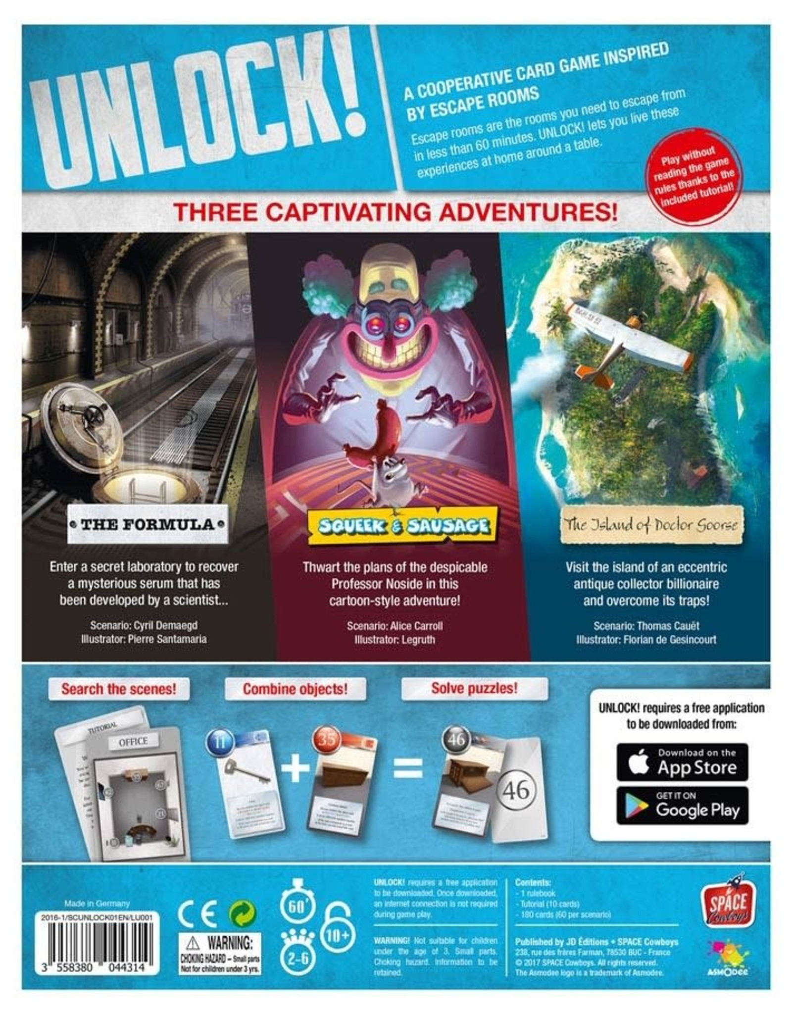 Unlock! Escape Adventures