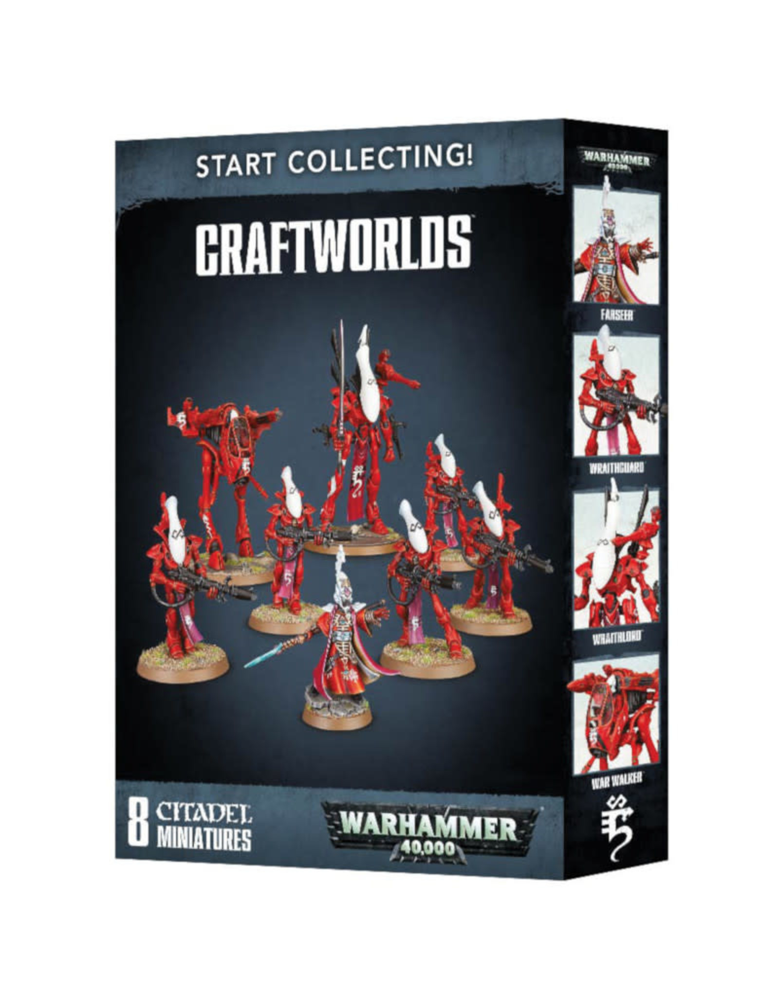 Games Workshop Warhammer 40K Start Collecting Craftworlds