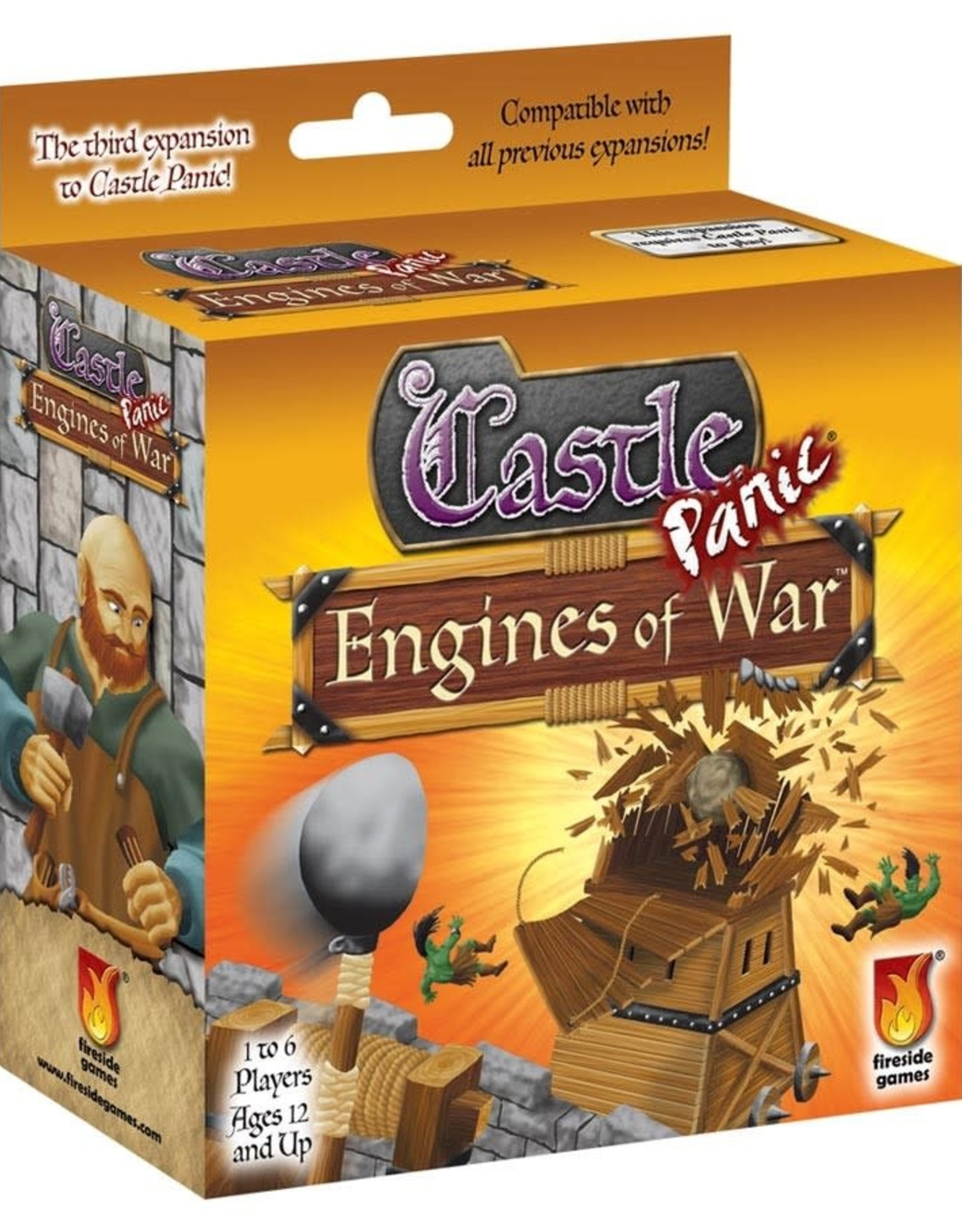 Fireside Games Castle Panic Engines Of War