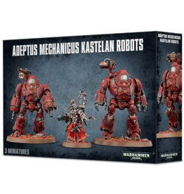 Games Workshop Warhammer 40K Adeptus Mechanicus Kastelan Robots