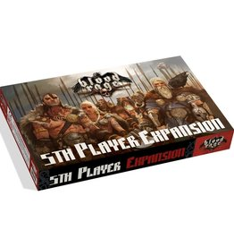 Cool Mini Or Not Blood Rage 5th Player Expansion