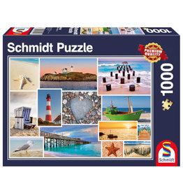Schmidt By the Sea Puzzle 1000 PCS