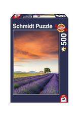 Schmidt Field of Lavender, Provence 500 PCS