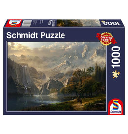 Schmidt Pastoral Waterfall Puzzle 1000 PCS