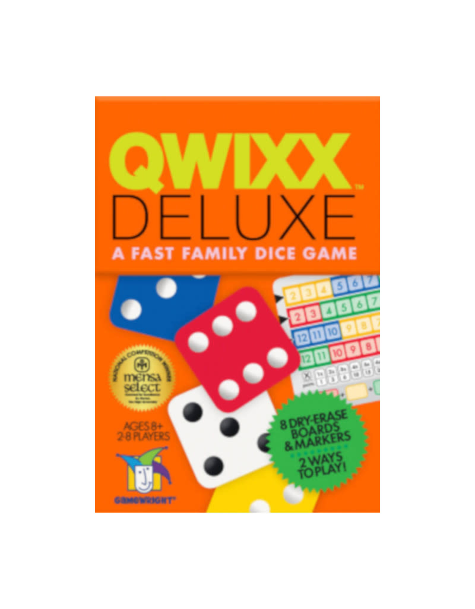 Gamewright Qwixx Deluxe