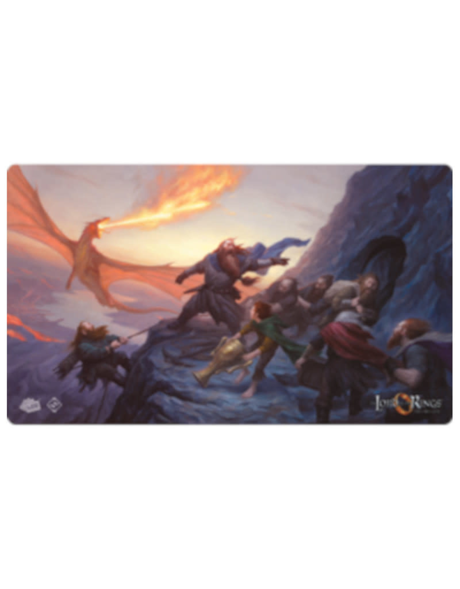 Fantasy Flight Games Playmat: Lord of the Rings LCG On The Doorstep