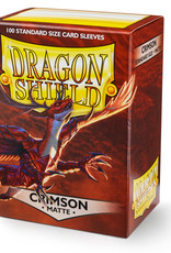 Arcane Tinmen Sleeves: Dragon Shield Matte (100) Crimson