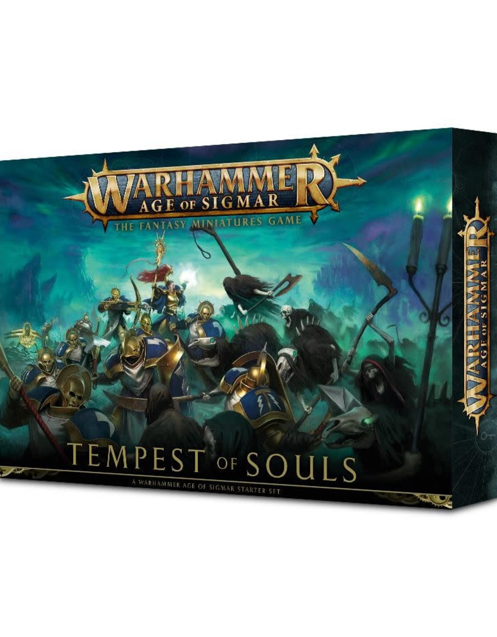 Games Workshop Warhammer Age of Sigmar Starter Tempest Of Souls