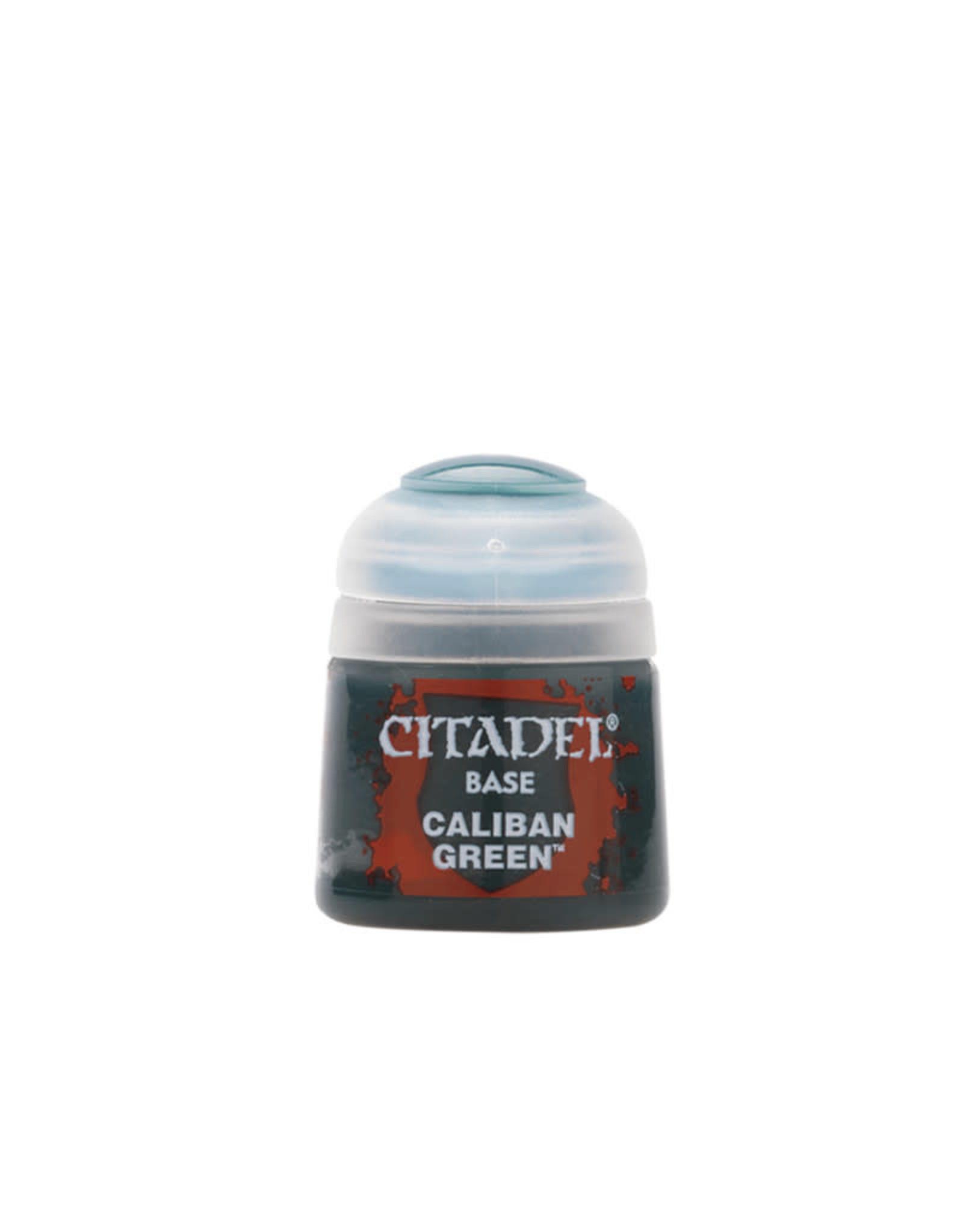 Citadel Base Paint: Caliban Green