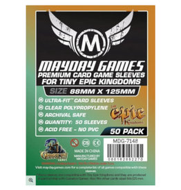 Mayday Games Sleeves: Premium Custom Tiny Epic Kingdoms Sleeves 88mm x 125mm (50)