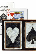 United States Playing Card Co Playing Cards: Congress Marble Heart