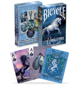 United States Playing Card Co Playing Cards: Bicycle Unicorn (Anne Stokes)