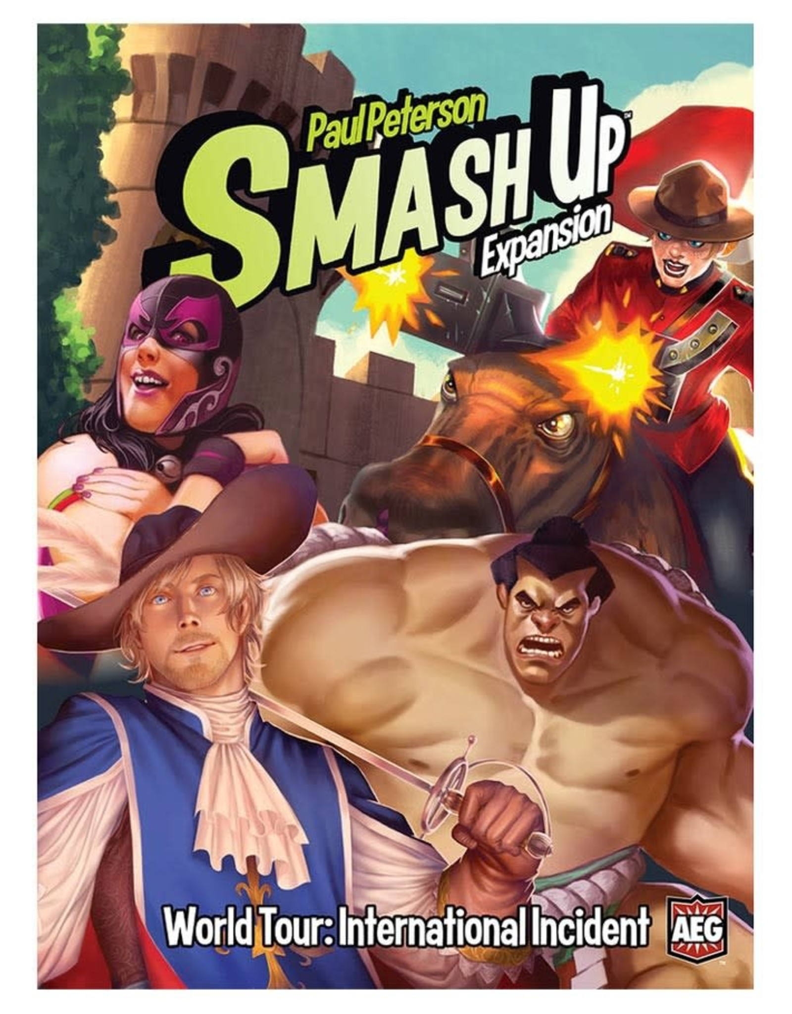 Alderac Smash Up International Incident Expansion