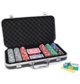 Poker Set: 300 PC Set with cards in Aluminium Case