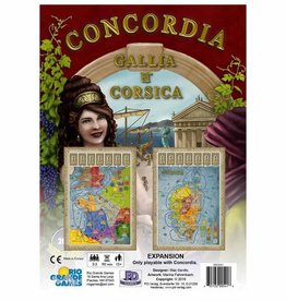 Rio Grande Games Concordia Gallia and Corsica Expansion