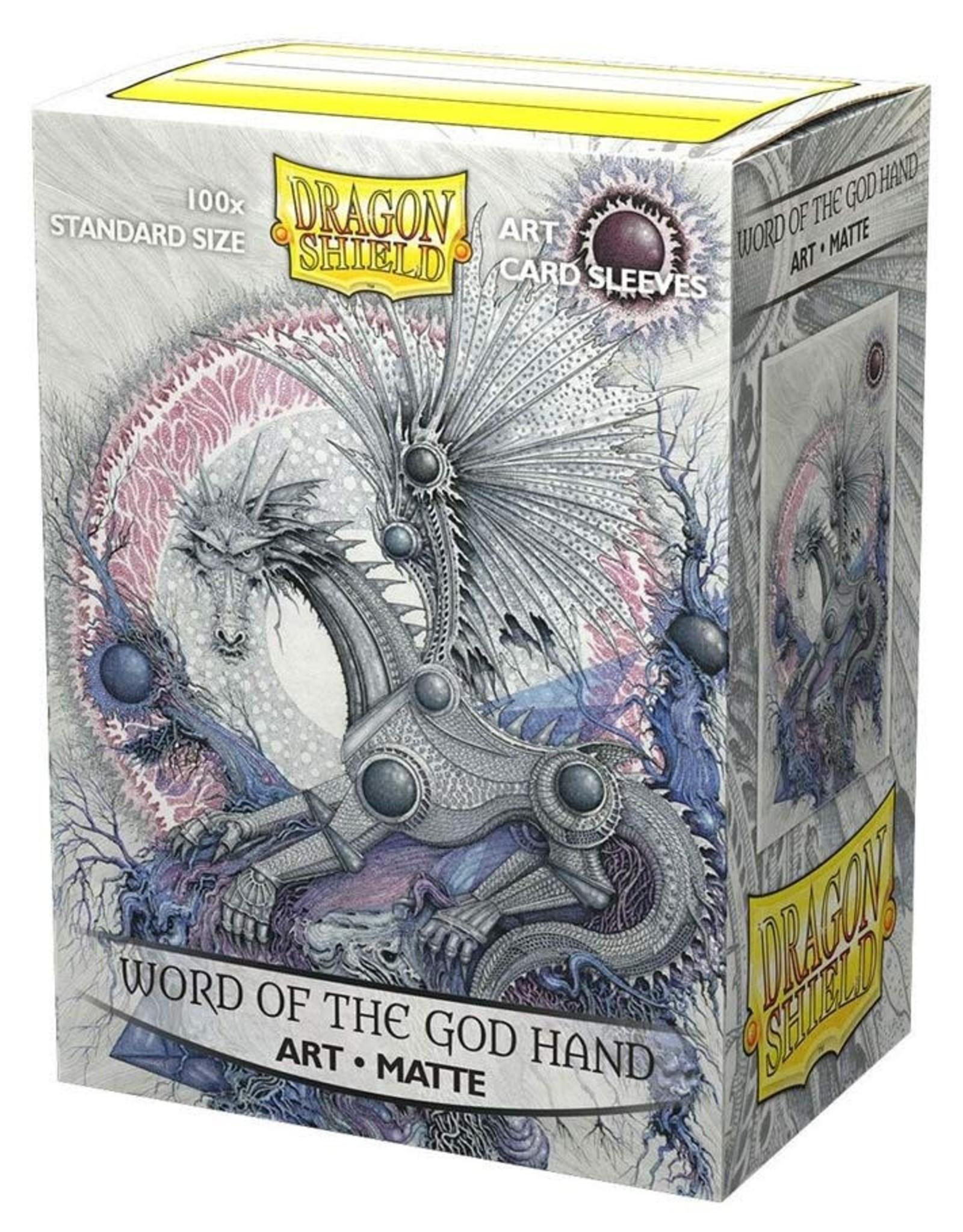 Arcane Tinmen Deck Protectors: Dragon Shield Matte Art (100) Word of the God Hand
