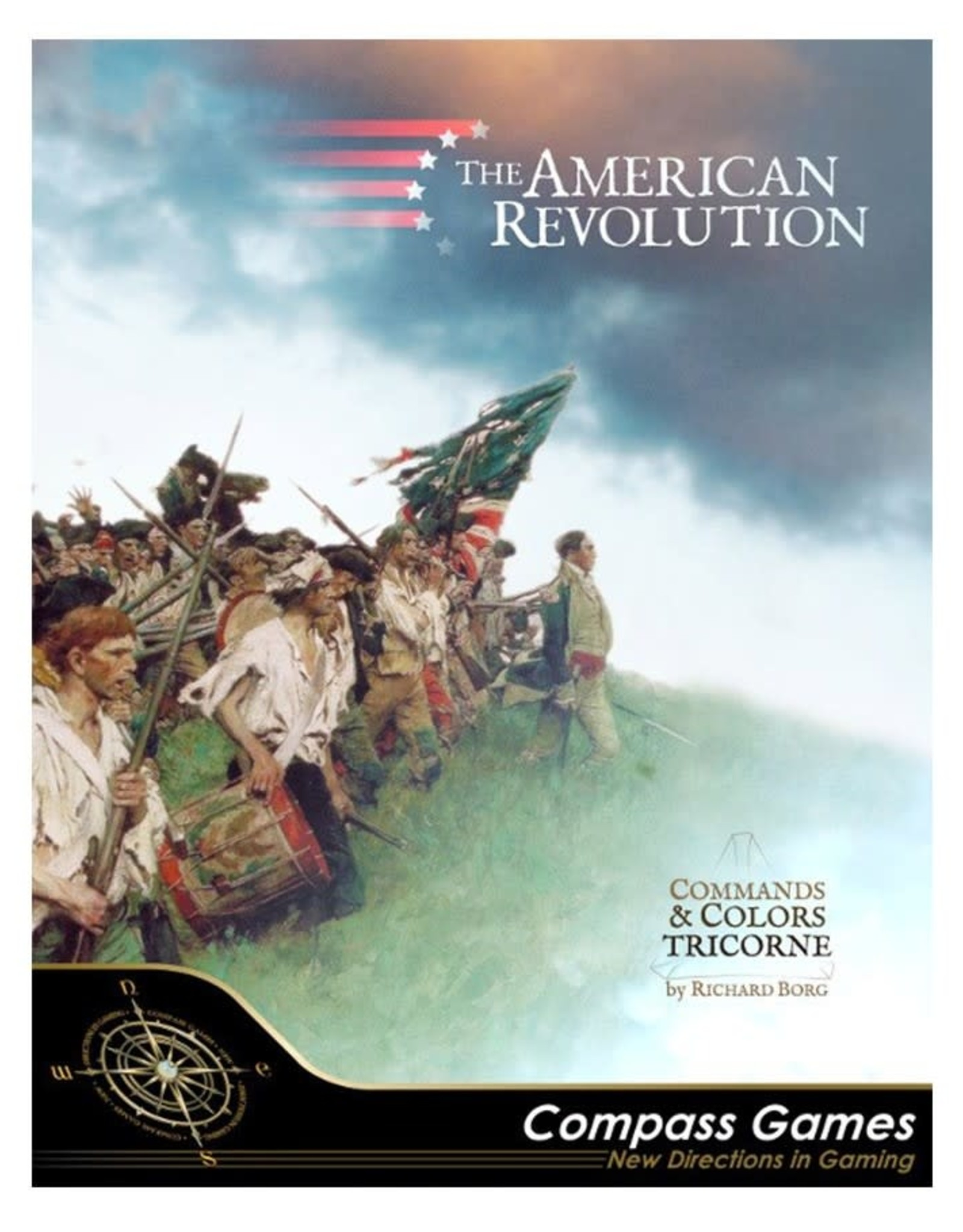 Compass Games American Revolution Tricorn