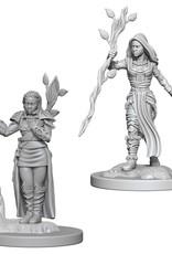Wizkids D&D Unpainted Minis: Human Druid Female
