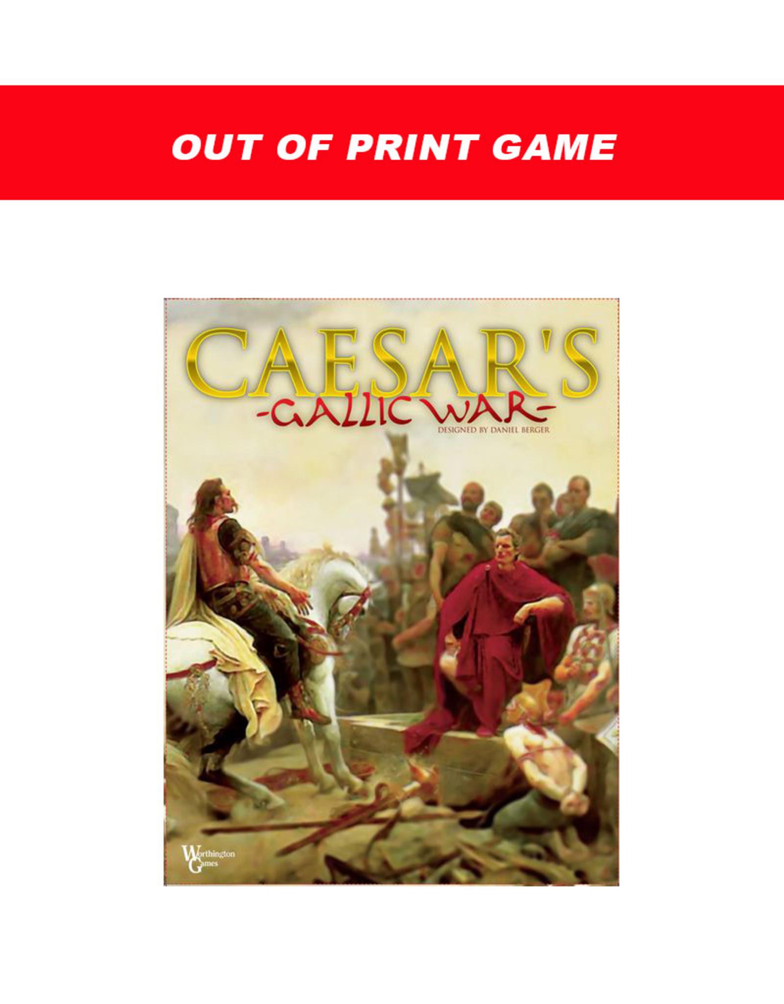 Misc Caesar's Gallic War (OOP)