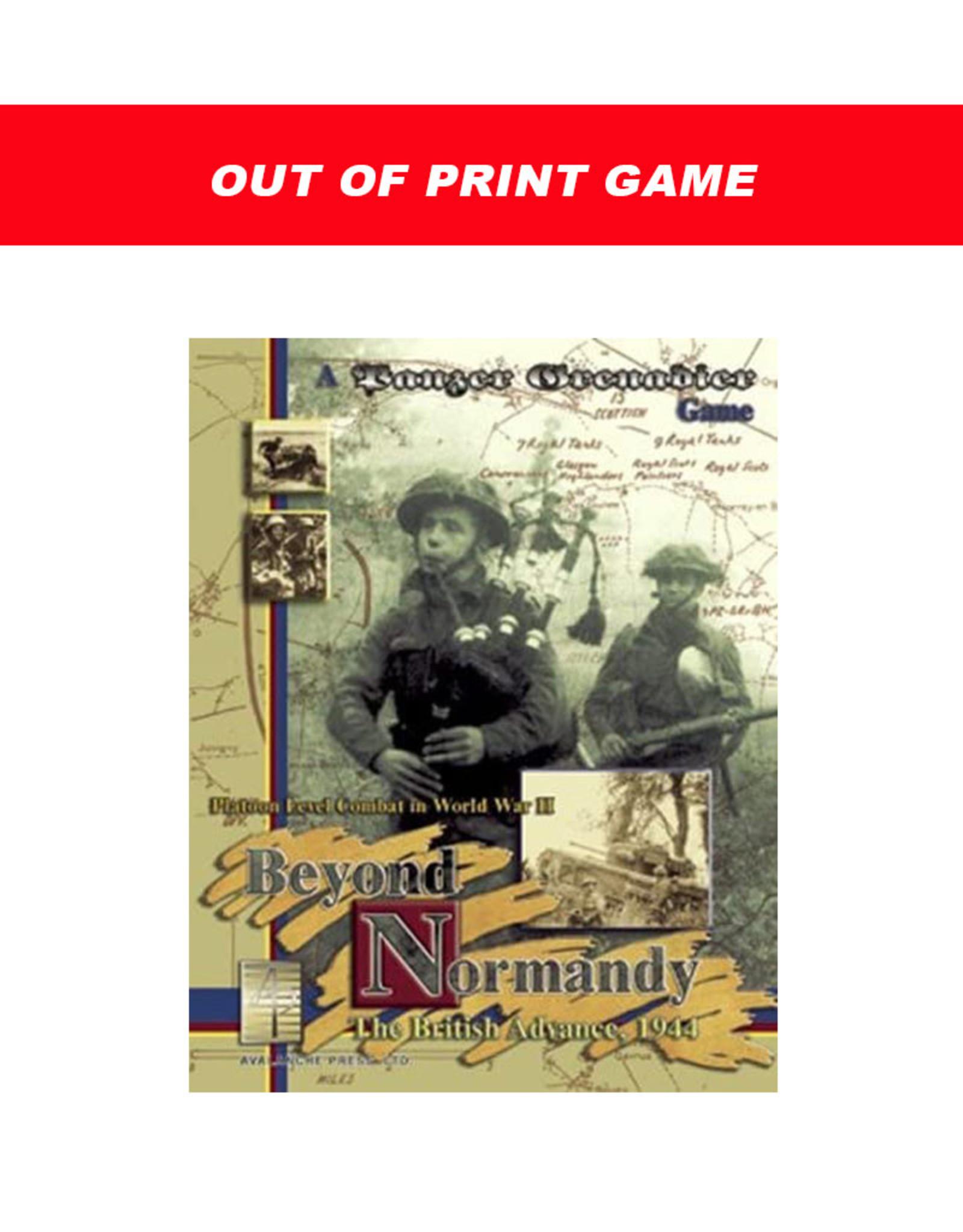 Avalanche Press Beyond Normandy: The British Advance, 1944 (Panzer Grenadier) (OOP)
