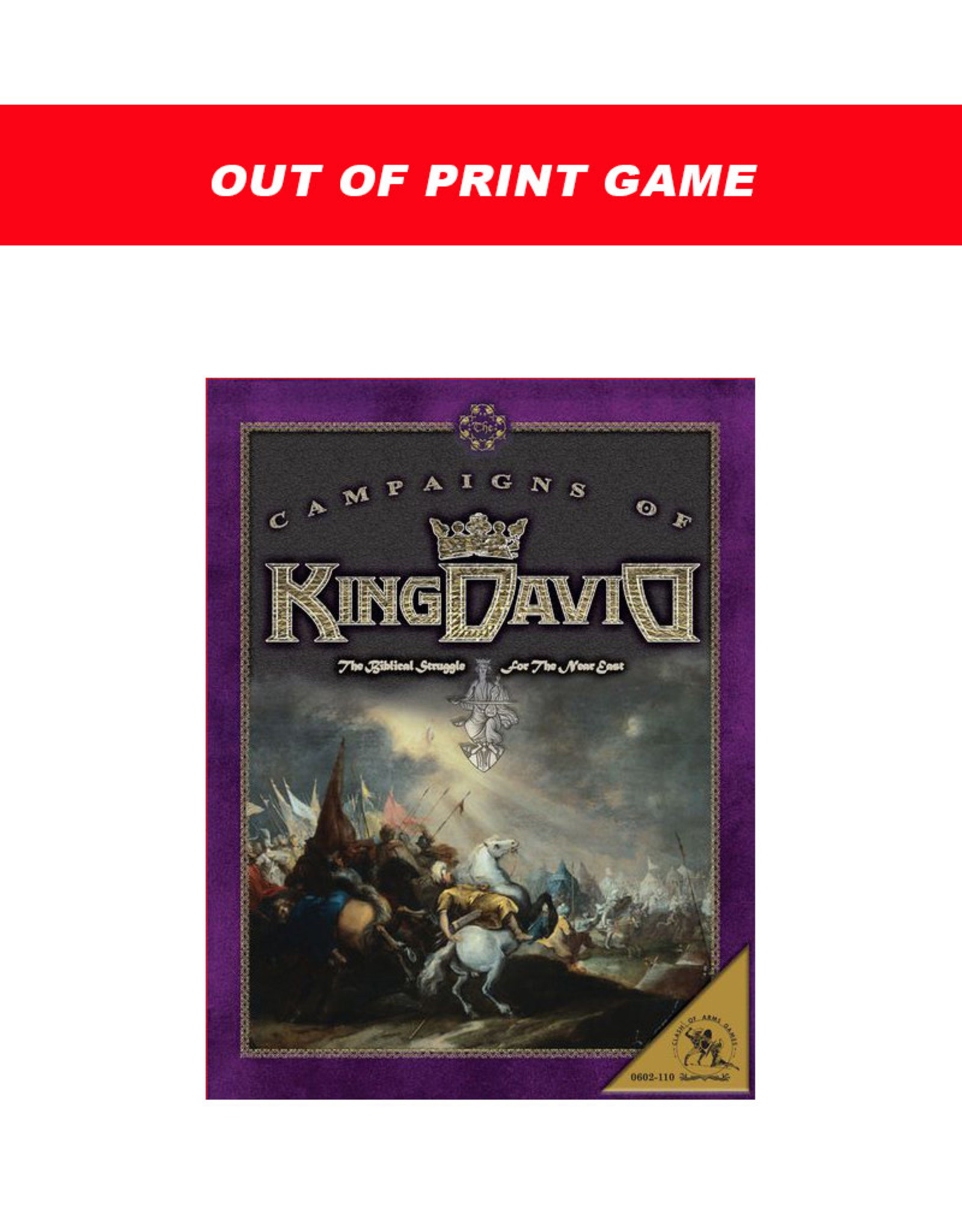 Worthington Games Campaigns of King David (OOP)