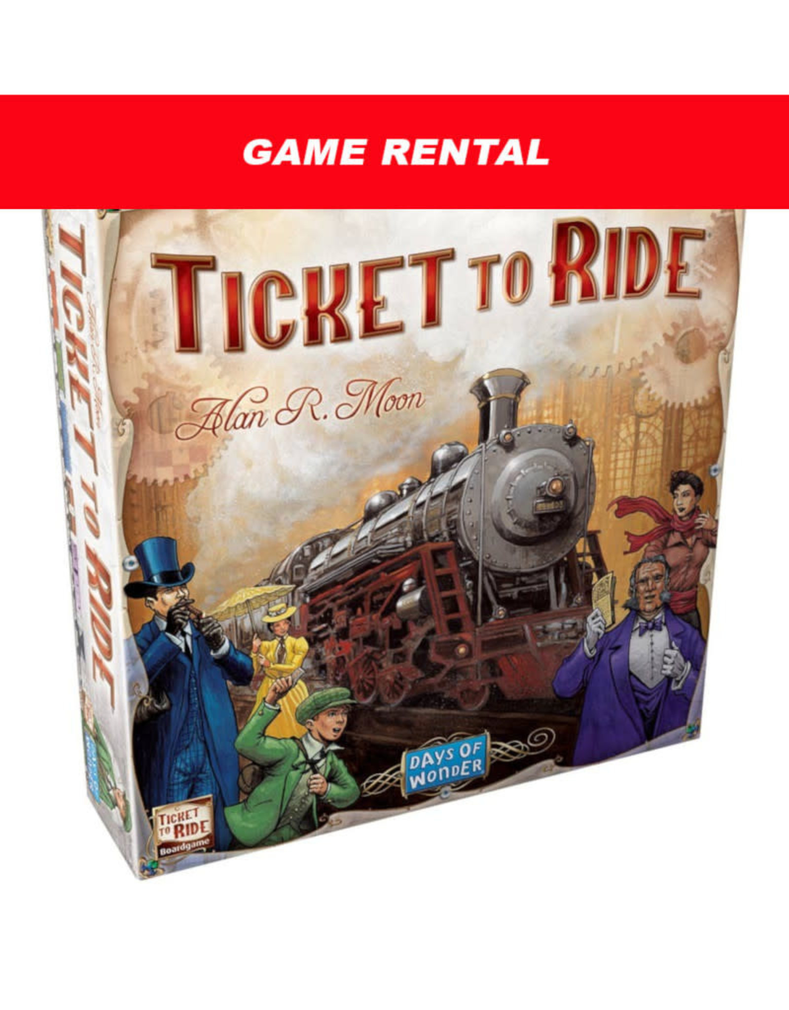 (RENT) Ticket to Ride (USA) for a Day. Love It! Buy It!