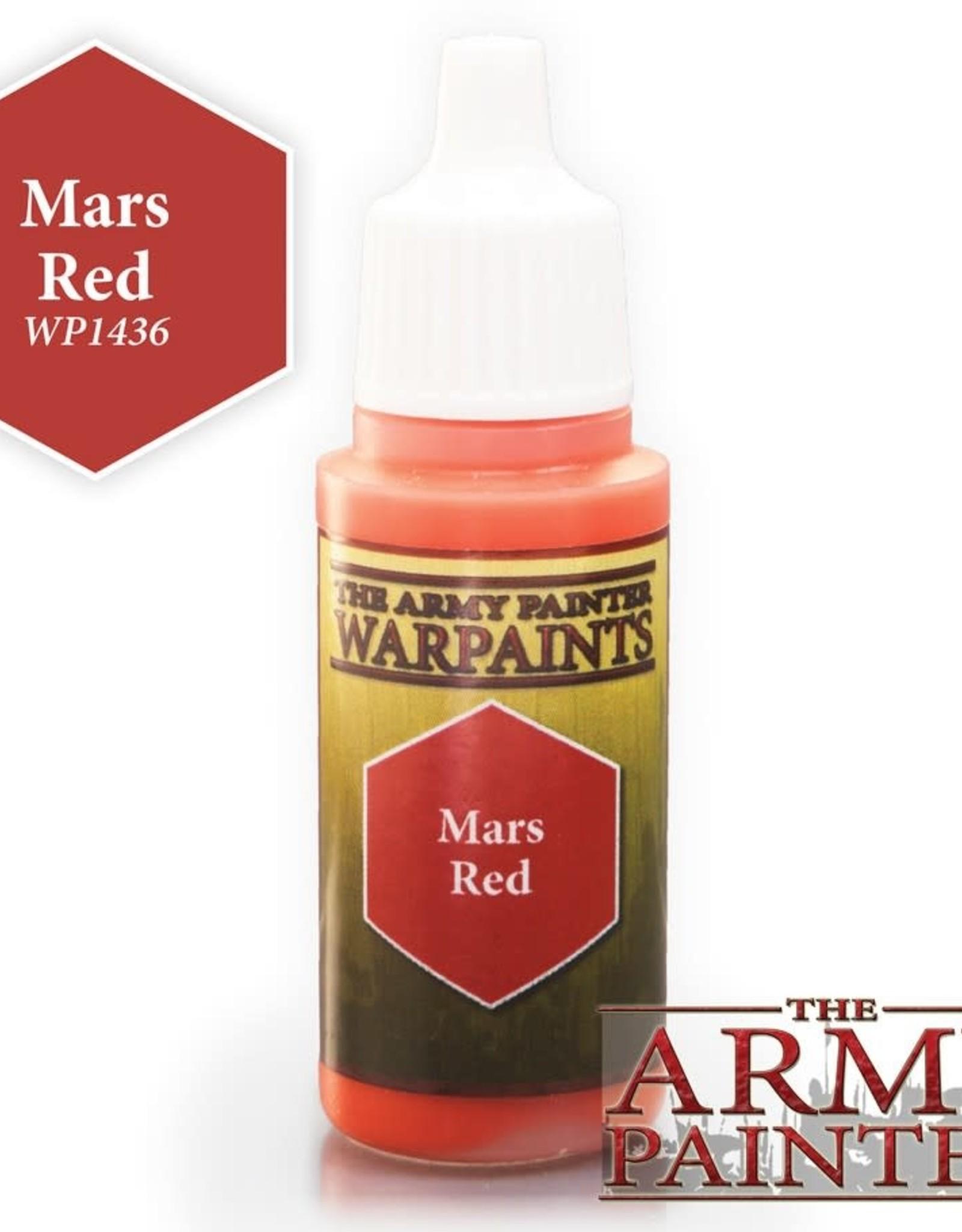 Warpaints: Mars Red 18ml