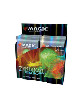 Wizards of the Coast MTG Zendikar Rising Collector Booster Box (12)