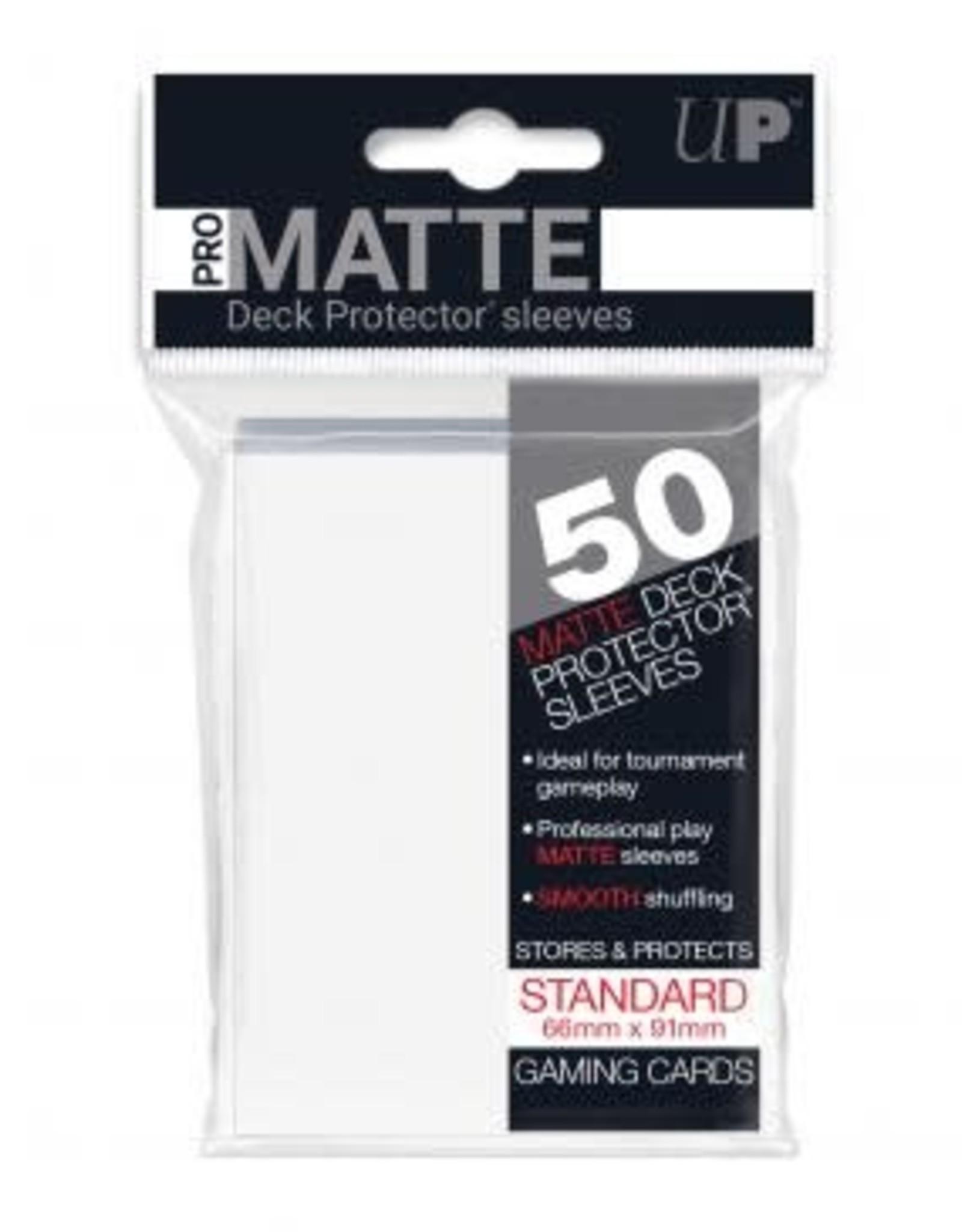 Deck Protectors: Pro-Matte (50) White