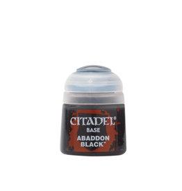 Citadel Base Paint: Abaddon Black