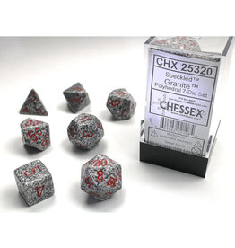 Chessex Polyhedral Dice Set: Speckled Granite (7)