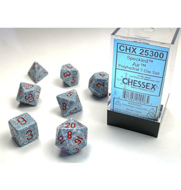 Chessex Polyhedral Dice Set: Speckled Poly Air (7)
