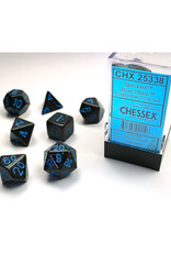 Chessex Polyhedral Dice Set: Speckled Blue Stars (7)