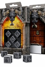 Q Workshop Metal D6 Dice: Dwarven (5)