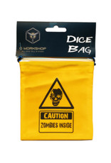 Q Workshop Dice Bag: Zombie Yellow