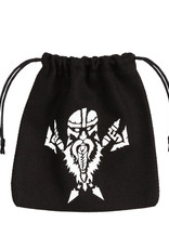 Q Workshop Dice Bag: Dwarven Black