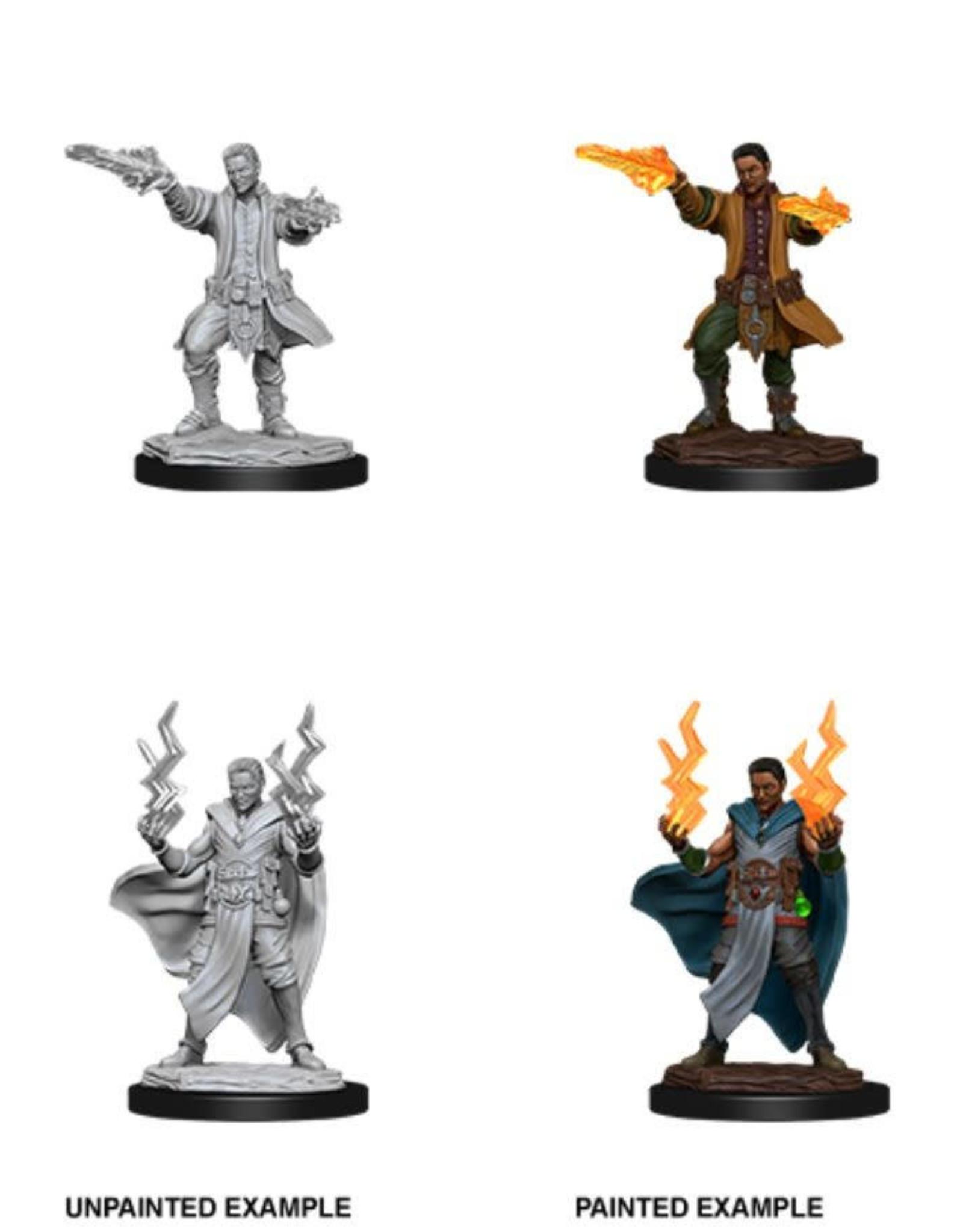 Wizkids D&D Nolzur's Unpainted Miniatures: Human Sorcerer Male