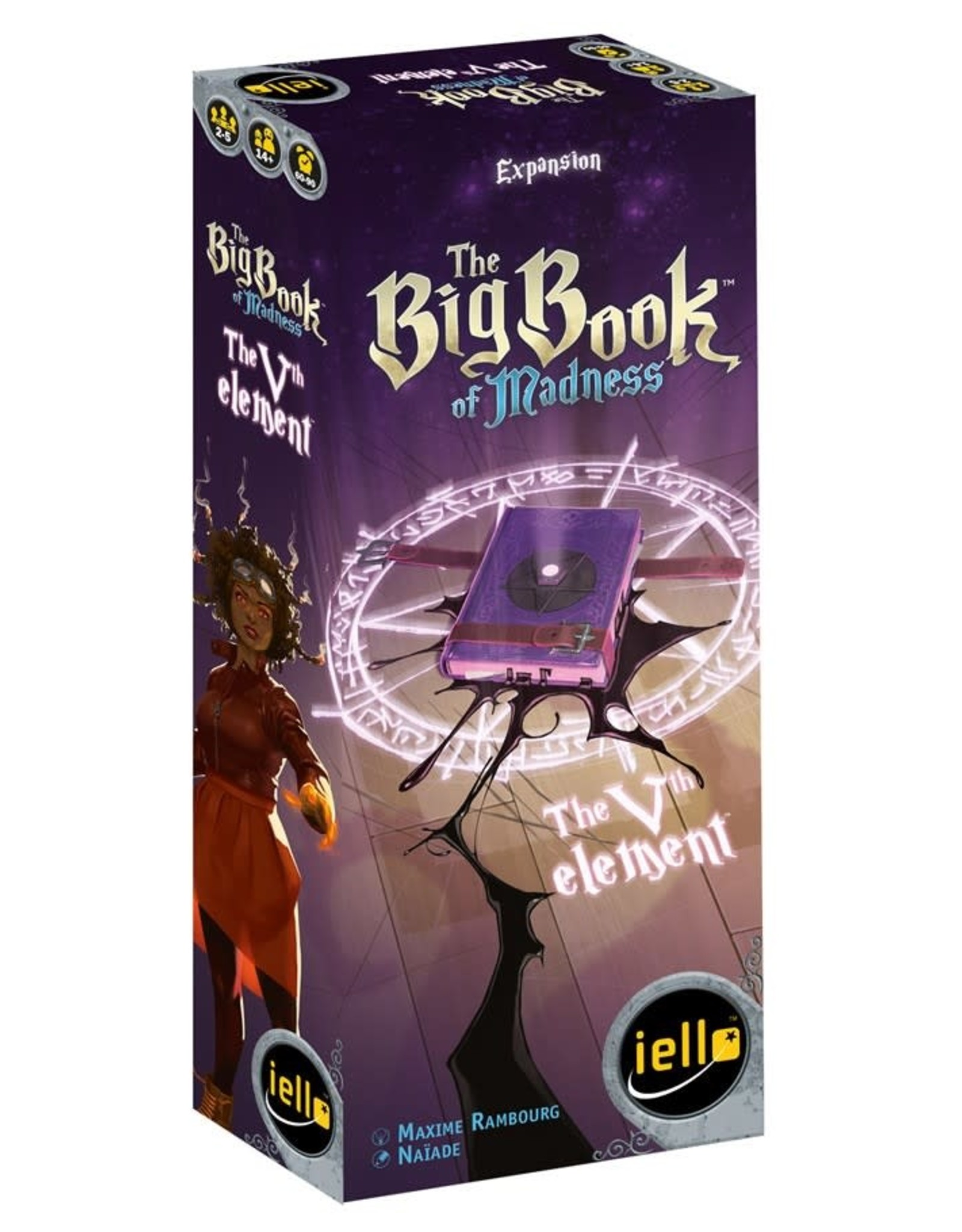Iello Big Book of Madness The Vth Element Expansion