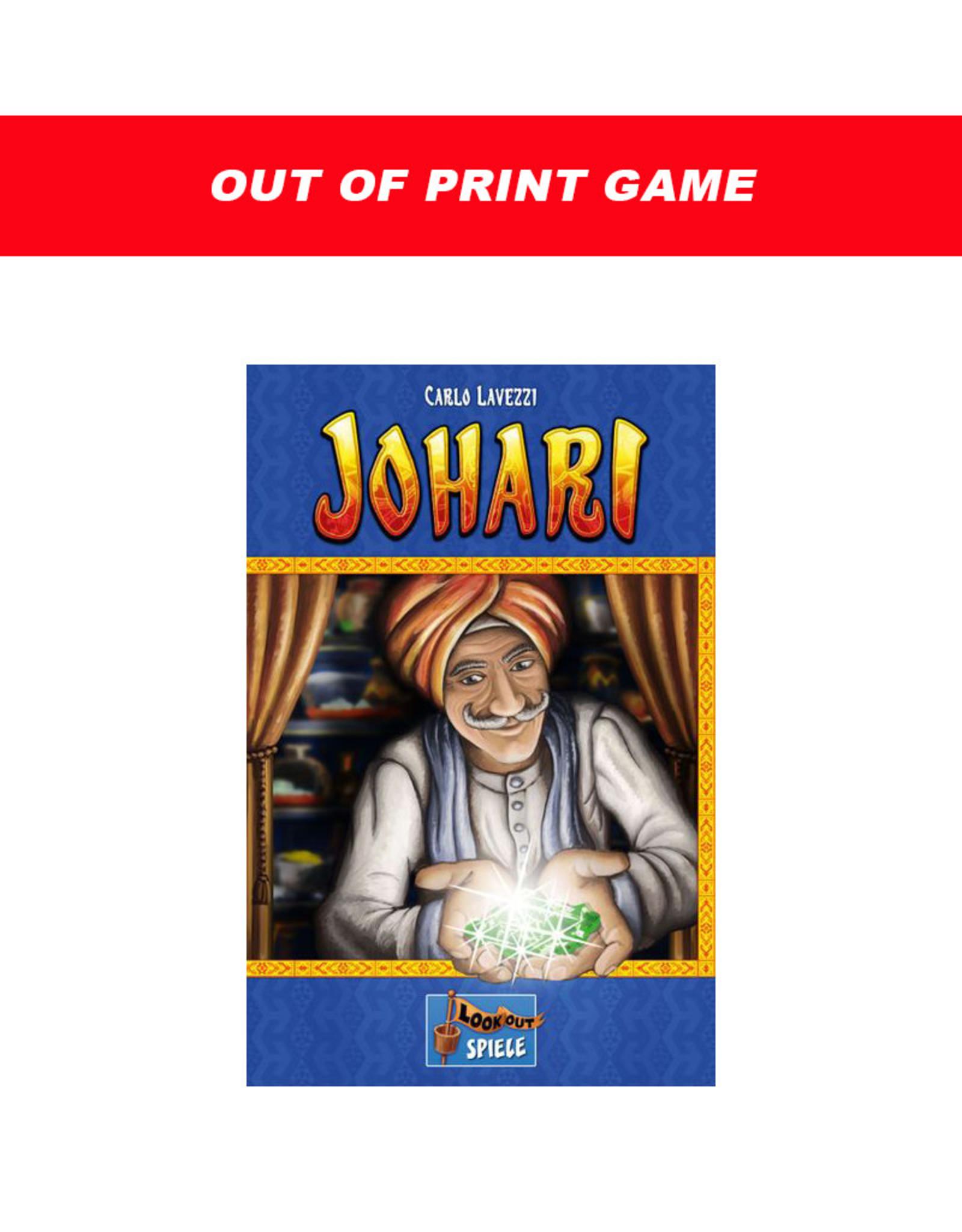 Mayfair Games Johari (OOP)