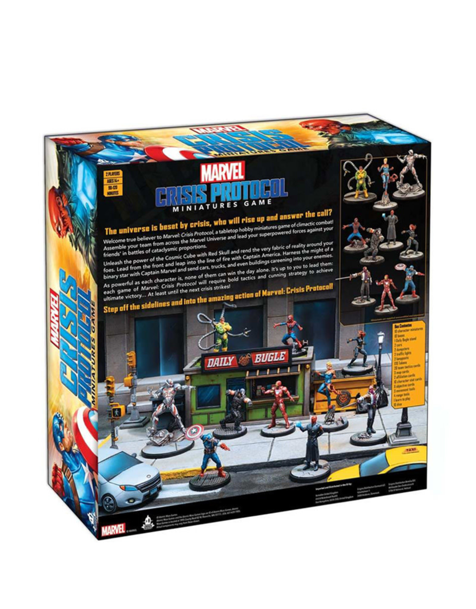 Atomic Mass Games Marvel Crisis Protocol Core Set