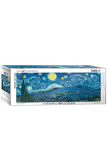 Eurographics Starry Night  Puzzle 1000 PCS (van Gogh) Panorama (Orig. Expand)