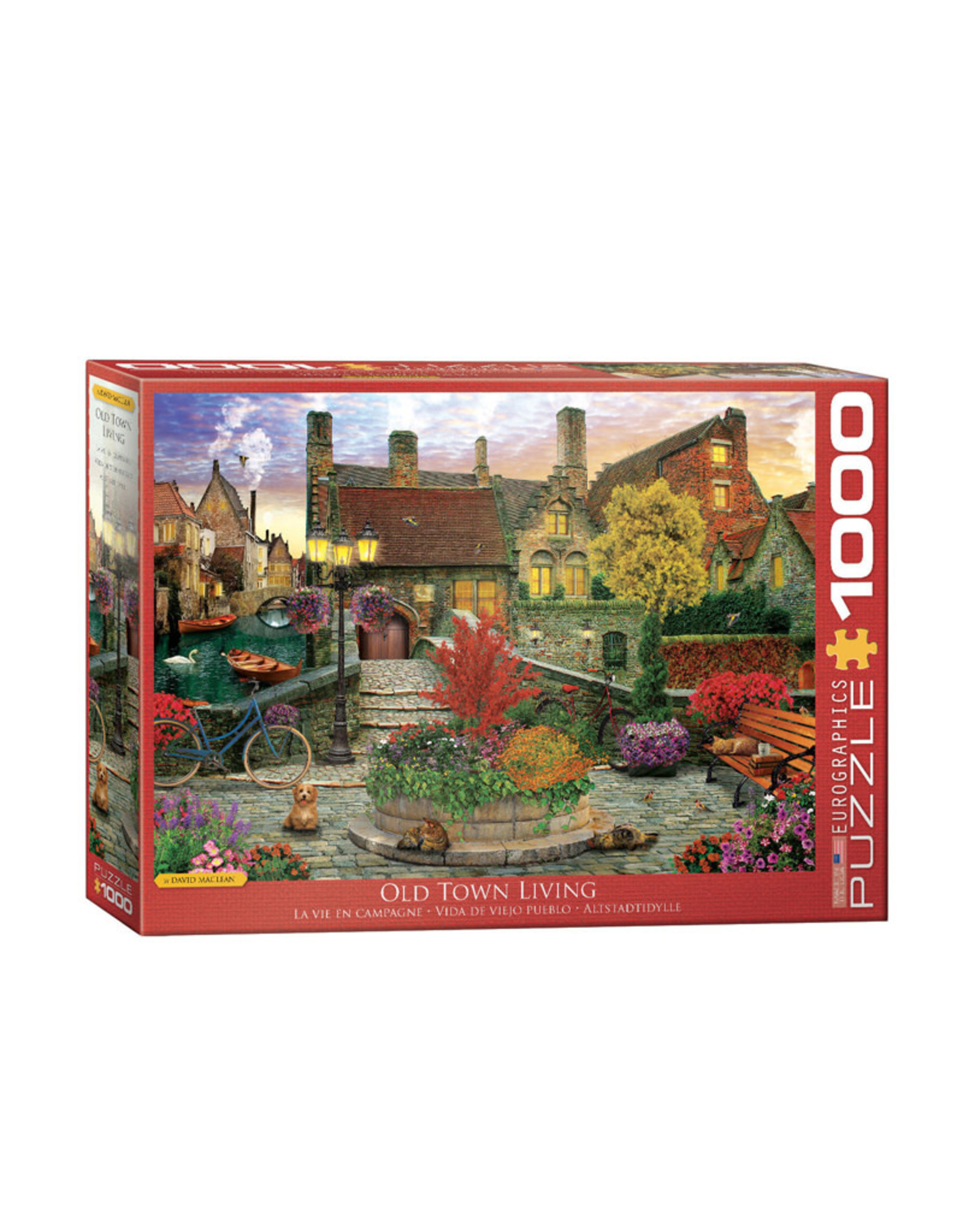 Eurographics Old Town Living Puzzle 1000 PCS