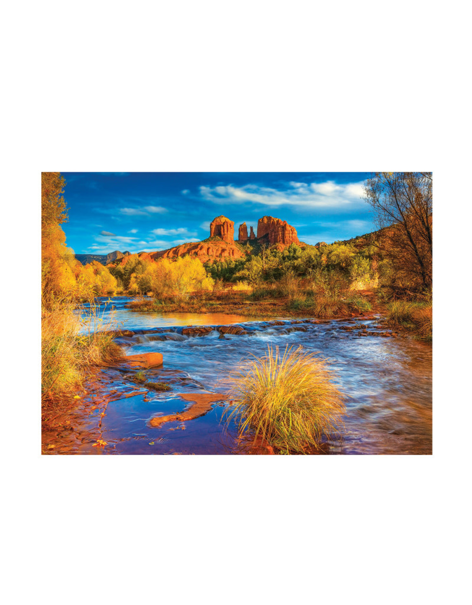 Eurographics Red Rock Crossing Puzzle 1000 PCS