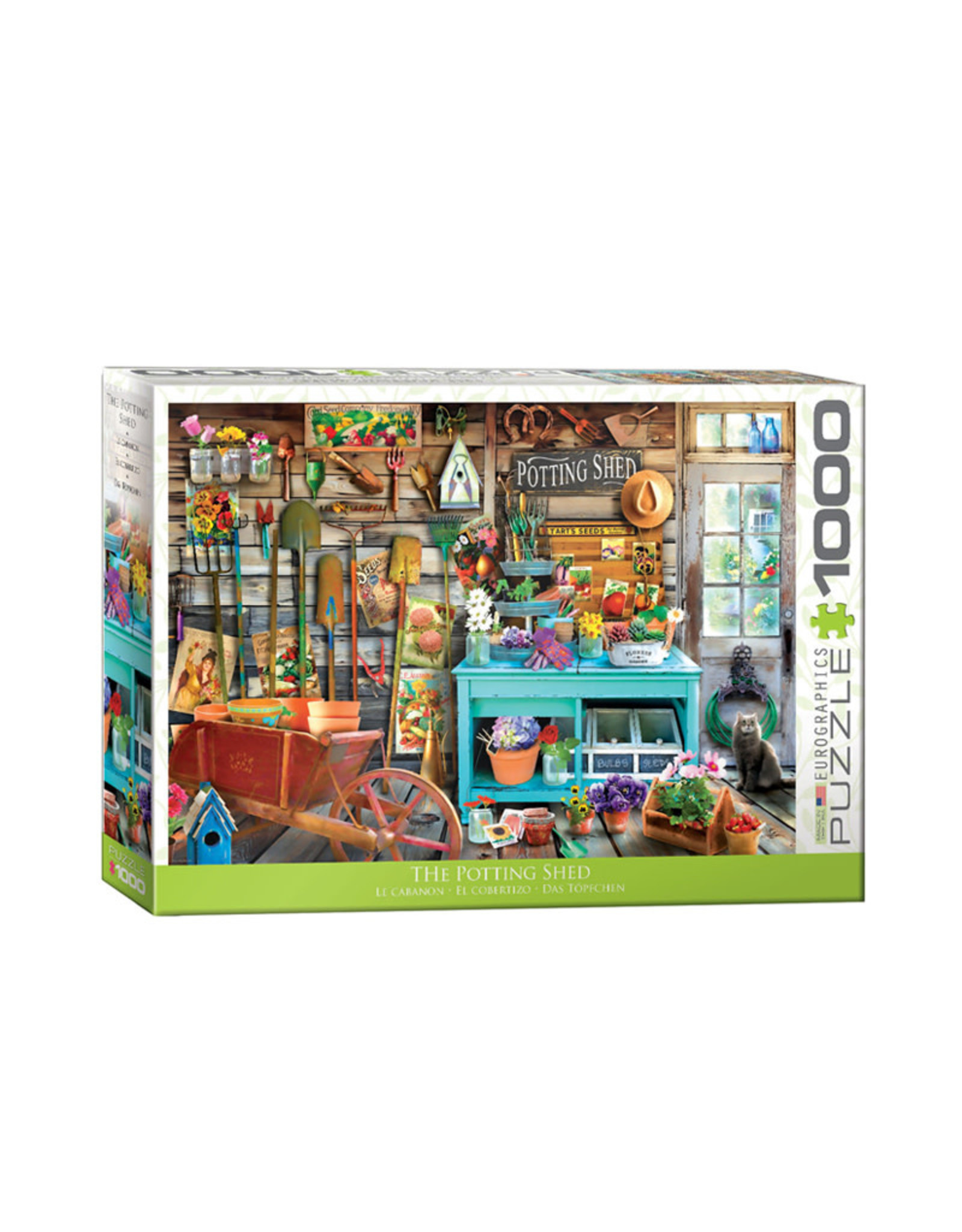 Eurographics Potting Shed Puzzle 1000 PCS