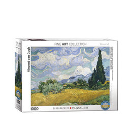 Eurographics Wheat Field with Cypresses 1000 PCS