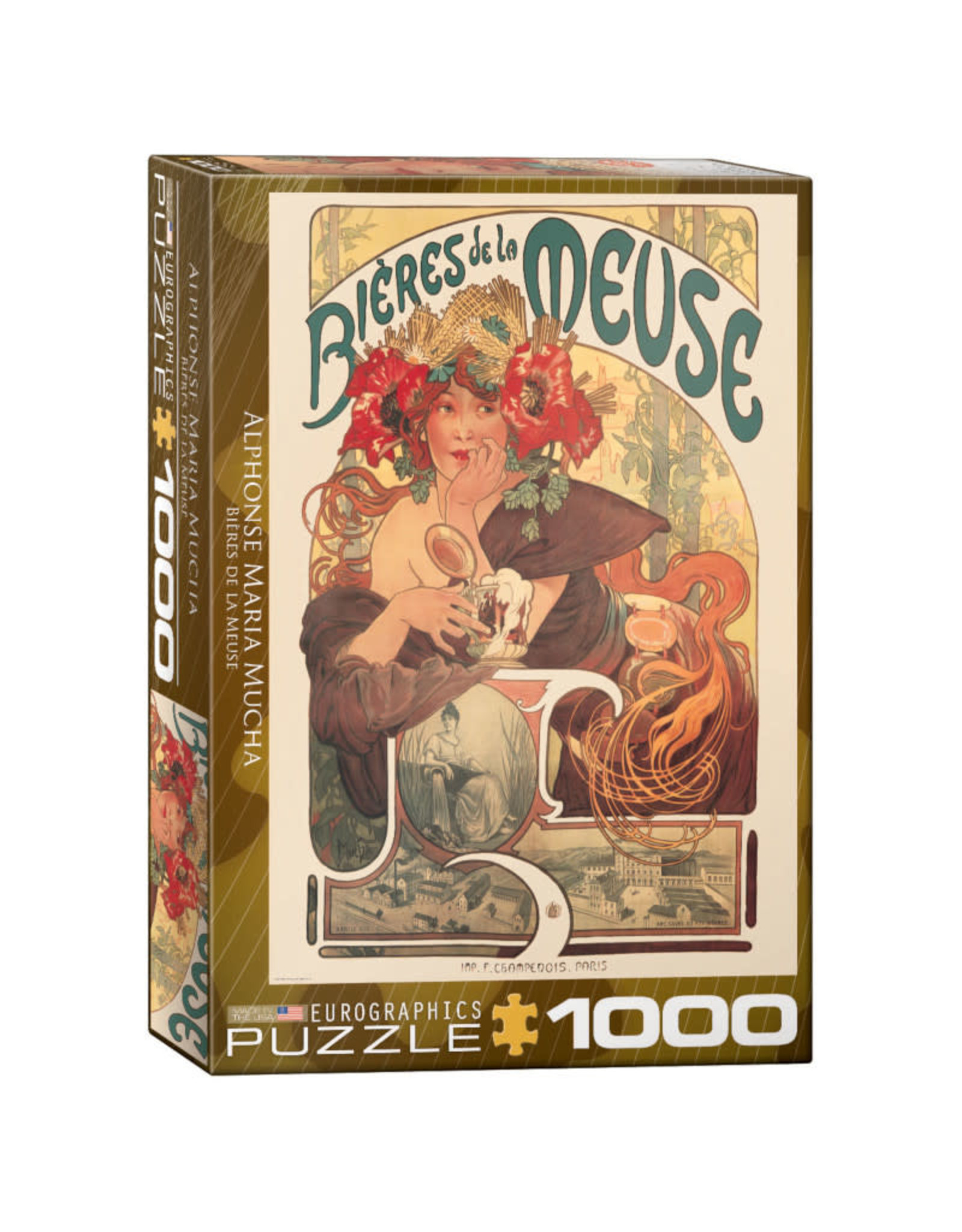 Eurographics Bieres de la Meuse 1000 PCS